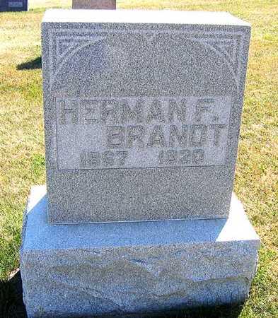 BRANDT, HERMAN F. - Benton County, Iowa | HERMAN F. BRANDT