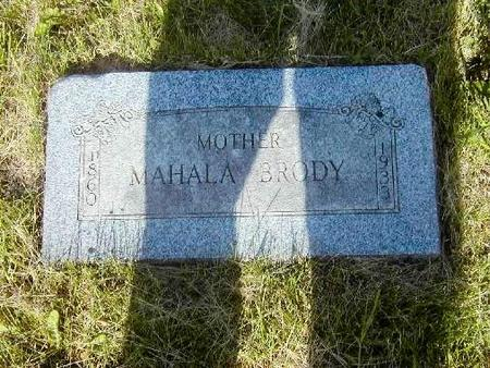 HARRISON BRODY, MAHALA - Benton County, Iowa | MAHALA HARRISON BRODY