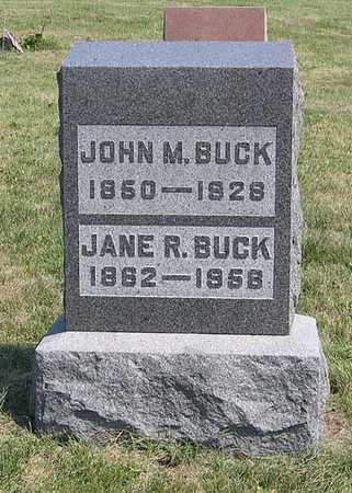 BUCK, JOHN M. - Benton County, Iowa | JOHN M. BUCK
