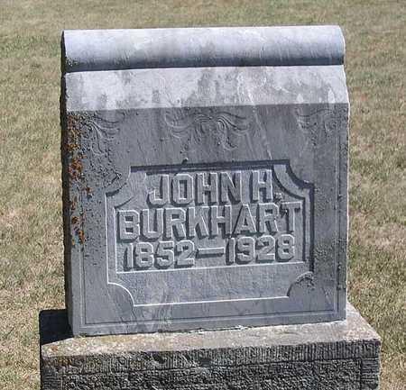 BURKHART, JOHN H. - Benton County, Iowa | JOHN H. BURKHART