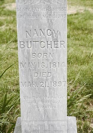 BUTCHER, NANCY - Benton County, Iowa | NANCY BUTCHER
