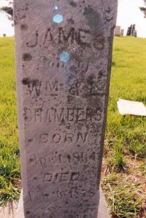 CHAMBERS, JAMES - Benton County, Iowa | JAMES CHAMBERS