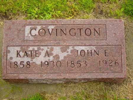 FLICKENGER COVINGTON, KATE A. - Benton County, Iowa | KATE A. FLICKENGER COVINGTON
