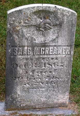 CREAMER, ISAAC N. - Benton County, Iowa | ISAAC N. CREAMER