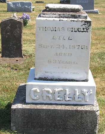 CRELLY, THOMAS - Benton County, Iowa | THOMAS CRELLY