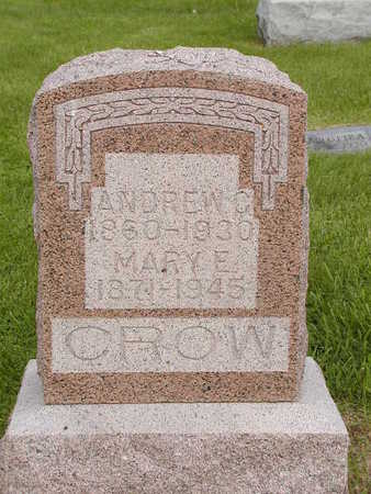 CROW, MARY E. - Benton County, Iowa | MARY E. CROW