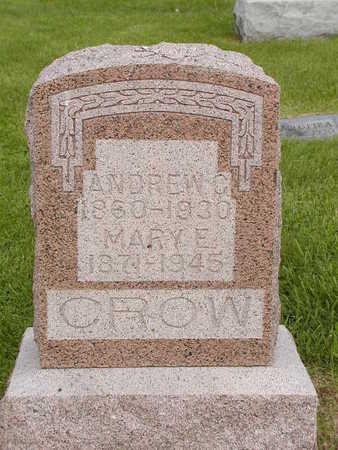 CROW, ANDREW C. - Benton County, Iowa | ANDREW C. CROW