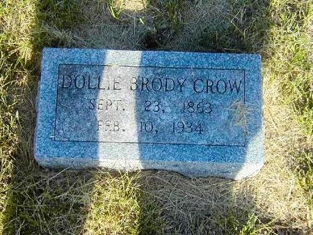 BRODY CROW, DOLLIE - Benton County, Iowa | DOLLIE BRODY CROW