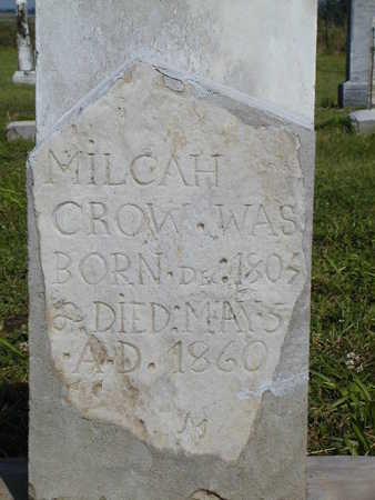 BELT CROW, MILCAH - Benton County, Iowa | MILCAH BELT CROW