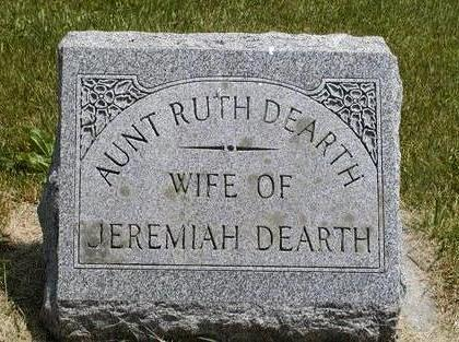 DEARTH, RUTH - Benton County, Iowa | RUTH DEARTH