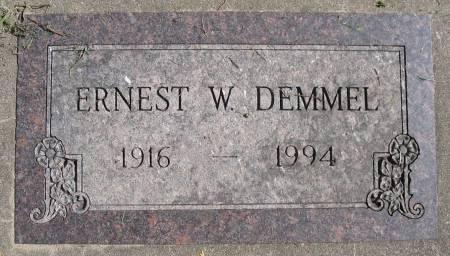 DEMMEL, ERNEST W - Benton County, Iowa | ERNEST W DEMMEL