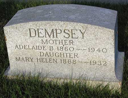 DEMPSEY, ADELAIDE B. - Benton County, Iowa | ADELAIDE B. DEMPSEY