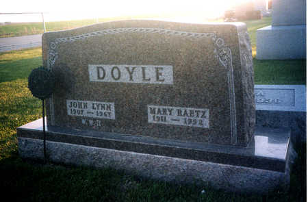 RAETZ DOYLE, MARY - Benton County, Iowa | MARY RAETZ DOYLE