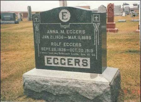 EGGERS, ROLF - Benton County, Iowa | ROLF EGGERS