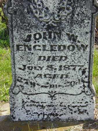 ENGLEDOW, JOHN W. - Benton County, Iowa | JOHN W. ENGLEDOW