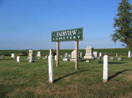 FAIRVIEW, CEMETERY - Benton County, Iowa | CEMETERY FAIRVIEW