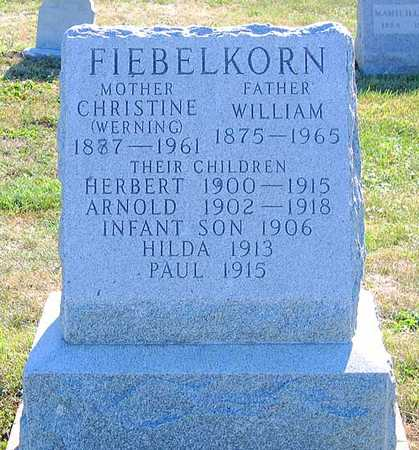 FIEBELKORN, WILLIAM - Benton County, Iowa | WILLIAM FIEBELKORN