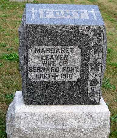 LEAVEN FOHT, MARGARET - Benton County, Iowa | MARGARET LEAVEN FOHT