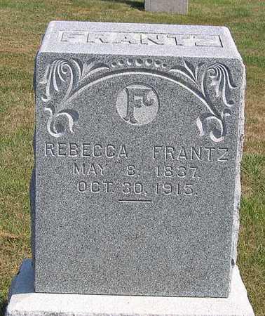 FRANTZ, REBECCA - Benton County, Iowa | REBECCA FRANTZ