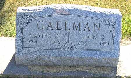 GALLMAN, JOHN G. - Benton County, Iowa | JOHN G. GALLMAN