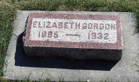 GORDON, ELIZABETH - Benton County, Iowa | ELIZABETH GORDON