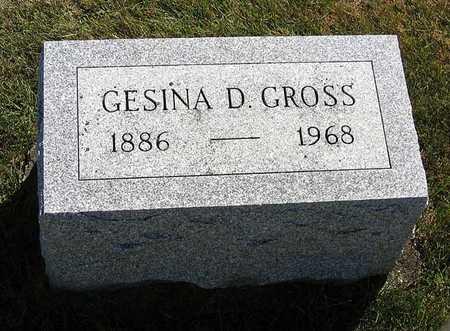 GROSS, GESINA D. - Benton County, Iowa   GESINA D. GROSS