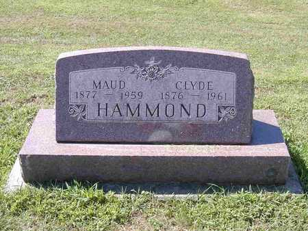 HAMMOND, MAUD - Benton County, Iowa | MAUD HAMMOND