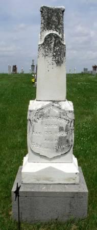 HANFORD, HENRY M. - Benton County, Iowa | HENRY M. HANFORD