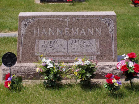 HANNEMANN, HARRY - Benton County, Iowa | HARRY HANNEMANN
