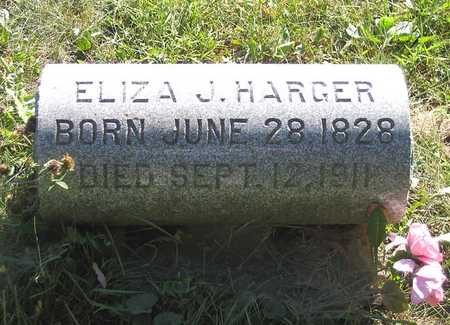 HARGER, ELIZA J. - Benton County, Iowa | ELIZA J. HARGER