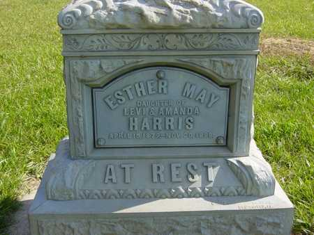 HARRIS, ESTHER MAY - Benton County, Iowa | ESTHER MAY HARRIS