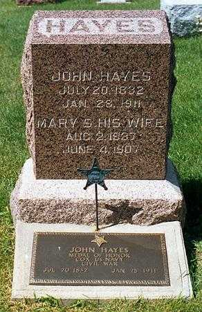 HAYES, MARY S. - Benton County, Iowa | MARY S. HAYES