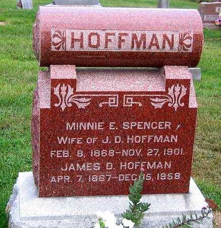 HOFFMAN, MINNIE E. - Benton County, Iowa | MINNIE E. HOFFMAN