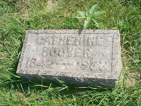 HOOVER, CATHERINE - Benton County, Iowa | CATHERINE HOOVER