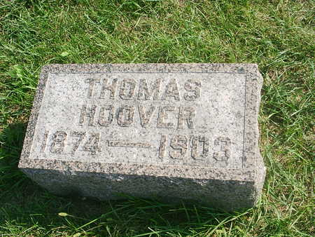 HOOVER, THOMAS - Benton County, Iowa | THOMAS HOOVER