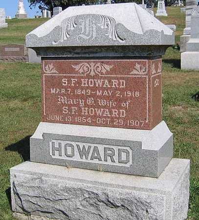HOWARD, S. F. - Benton County, Iowa | S. F. HOWARD