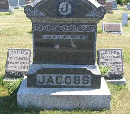 JACOBS, ANNA - Benton County, Iowa | ANNA JACOBS