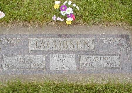 JACOBSEN, LOLA - Benton County, Iowa | LOLA JACOBSEN