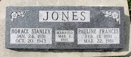 JONES, PAULINE FRANCES - Benton County, Iowa | PAULINE FRANCES JONES
