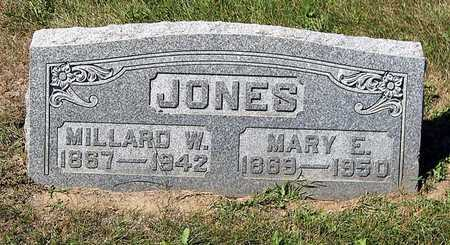 JONES, MARY E. - Benton County, Iowa | MARY E. JONES