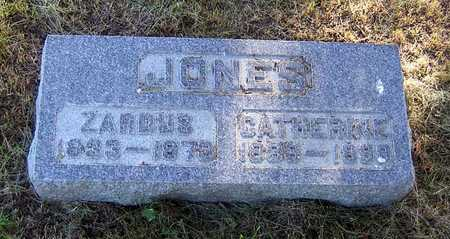JONES, ZARDUS - Benton County, Iowa | ZARDUS JONES