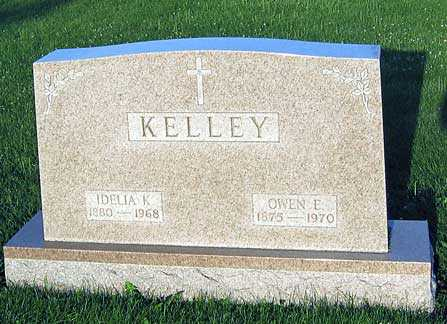 KELLEY, IDELIA A. - Benton County, Iowa | IDELIA A. KELLEY