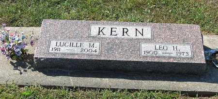 WALTON KERN, LUCILLE M. - Benton County, Iowa | LUCILLE M. WALTON KERN