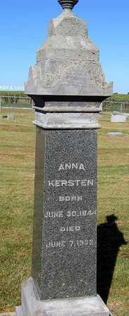 KERSTEN, ANNA - Benton County, Iowa | ANNA KERSTEN