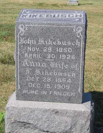 KIKEBUSCH, JOHN - Benton County, Iowa | JOHN KIKEBUSCH