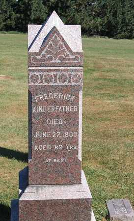 KINDERFATHER, FREDERICK - Benton County, Iowa | FREDERICK KINDERFATHER