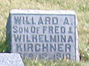 KIRCHNER, WILLARD A. - Benton County, Iowa | WILLARD A. KIRCHNER