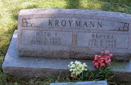 KROYMAN, BERTHA - Benton County, Iowa | BERTHA KROYMAN