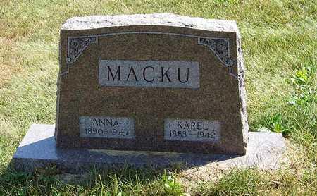 MACKU, ANNA - Benton County, Iowa | ANNA MACKU