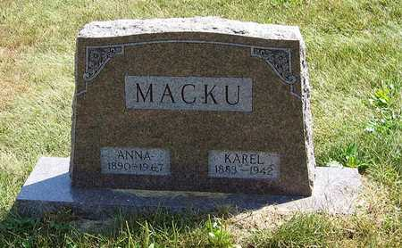 MACKU, KAREL - Benton County, Iowa | KAREL MACKU